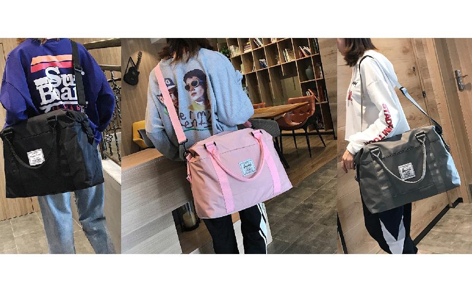 Travel Bag with Adjustable Shoulder Strap