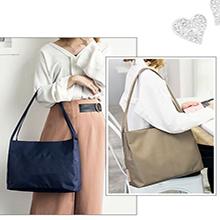 Einkaufstasche Nylon Tote Bag New Ladies Purse Handtaschen Hobo Schultertasche Hobo Bag Schwarz Handtaschen