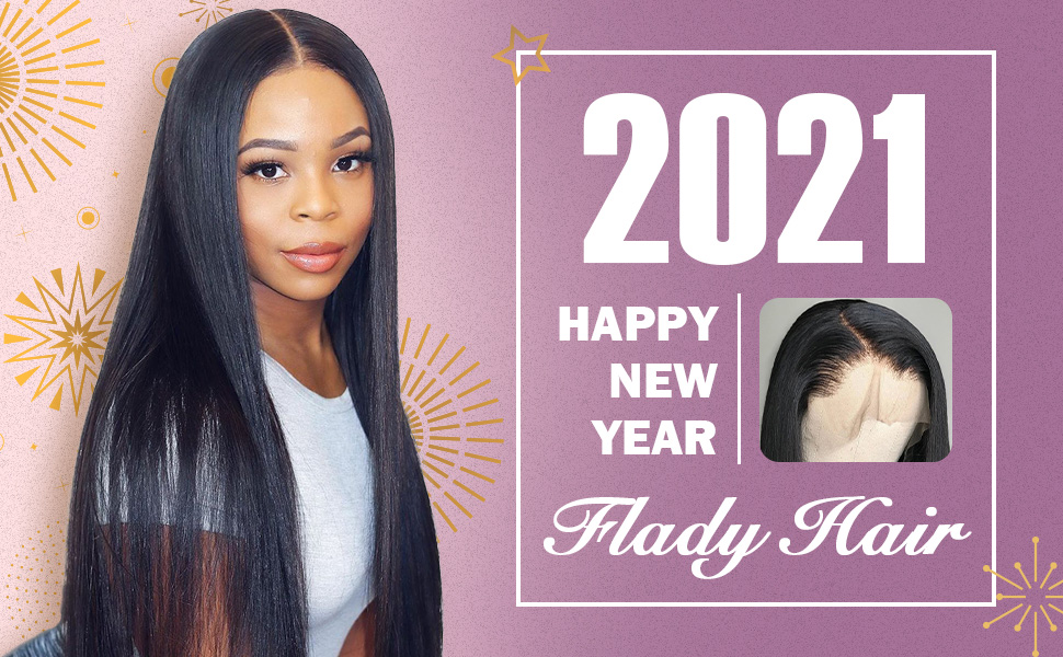 flady straight human hair wigs
