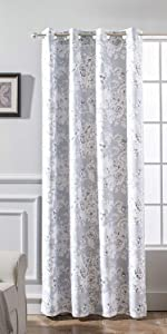 floral pencil curtain 52 84 gray