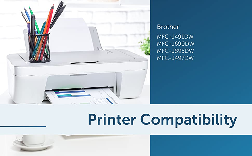 lc3011 ink cartridges bk/c/m/y j491dw ink cartridges j895dw