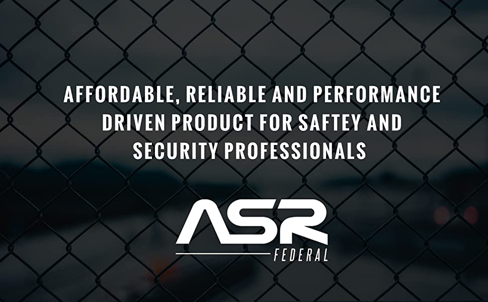 ASR Federal, government, spy, police, security, covert operations, FBI, CIA, jail, detective