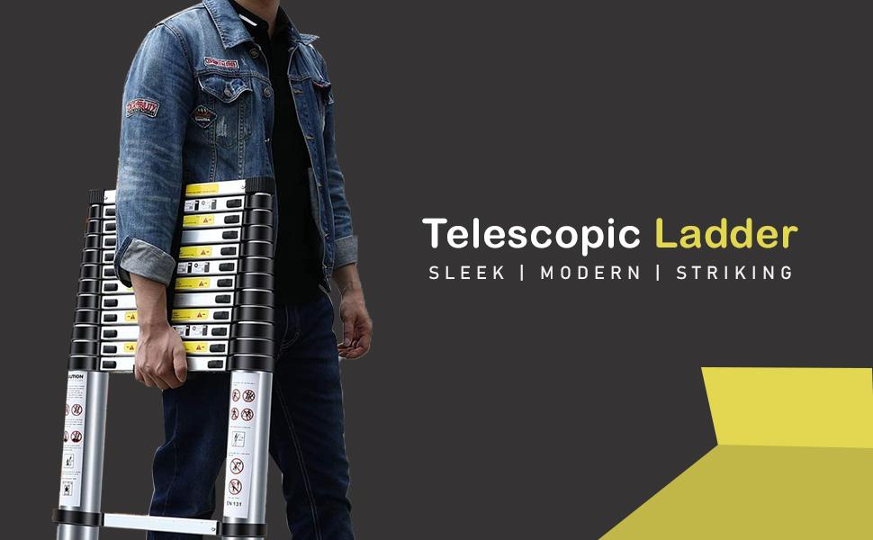 telescopic ladder office ladder household ladder