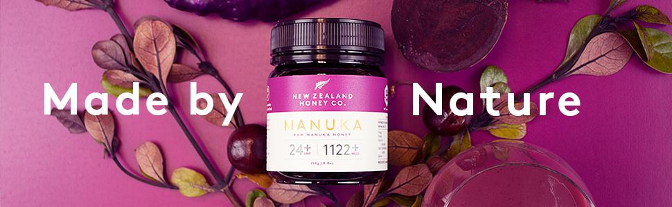 Raw Manuka Honey New Zealand Honey Co. UMF 24+ MGO 1122+