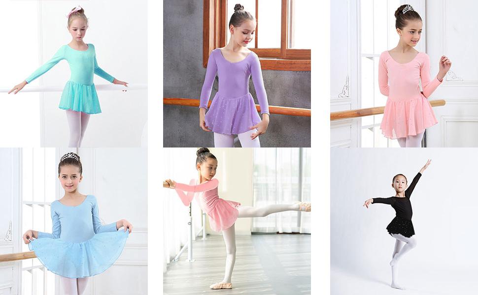 Girl Ballet Clothes