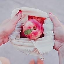 reusable food storage bags washable