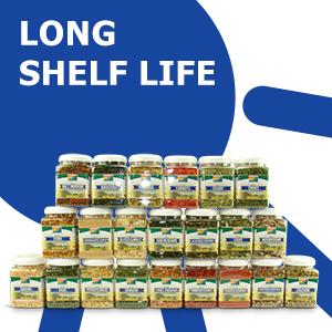 long shelf life, extended shelf life
