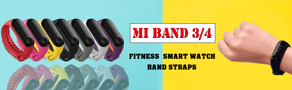 Mi Band 3 4 strap