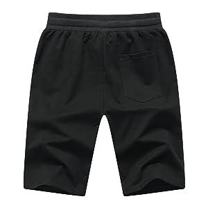 grey mens sports shorts