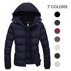 colorful down jacket women