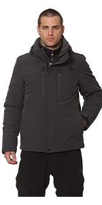 mens winter coad jacket black