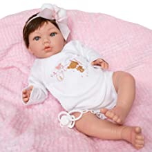 Bebe Reborn Silicona Muñecas para niñas Bebes Reborn de Vinilo Siliconado, Muñecos Reborn