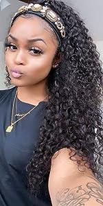 deep wave curly wig