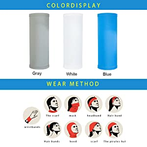 Multifunctional Headwear Face Scarf