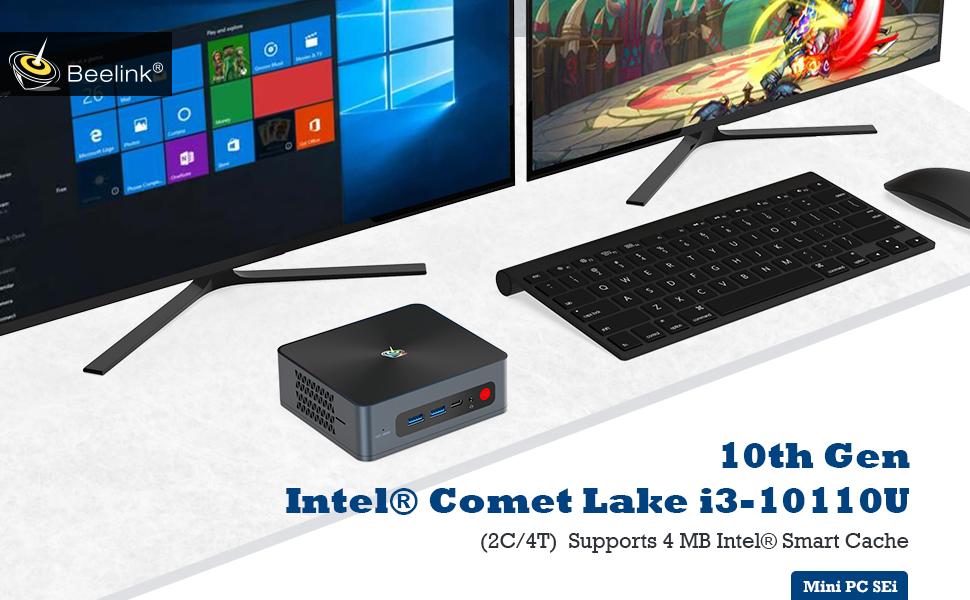 mini pc.i3 mini pc,beelink mini pc,mini computer,mini pc windows10 pro,desktop pc,beelink sei10