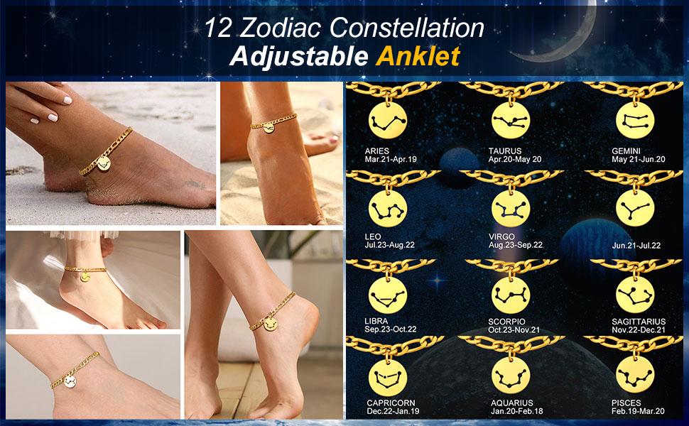 gold anklet bracelets