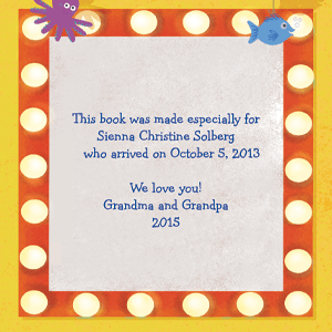 PERSONALIZED CHILDRENS BOOKS GIFTS FOR BABY BEDTIME STORY