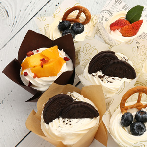 tulip cupcake papers