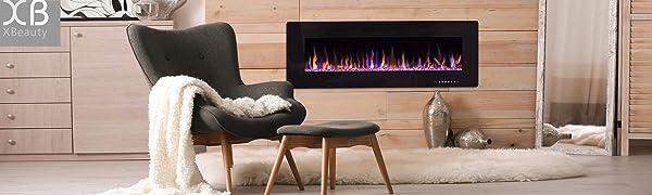 xbeauty electric fireplace