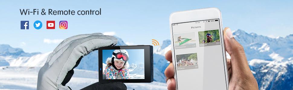 sport action camera vlogging camera gopro