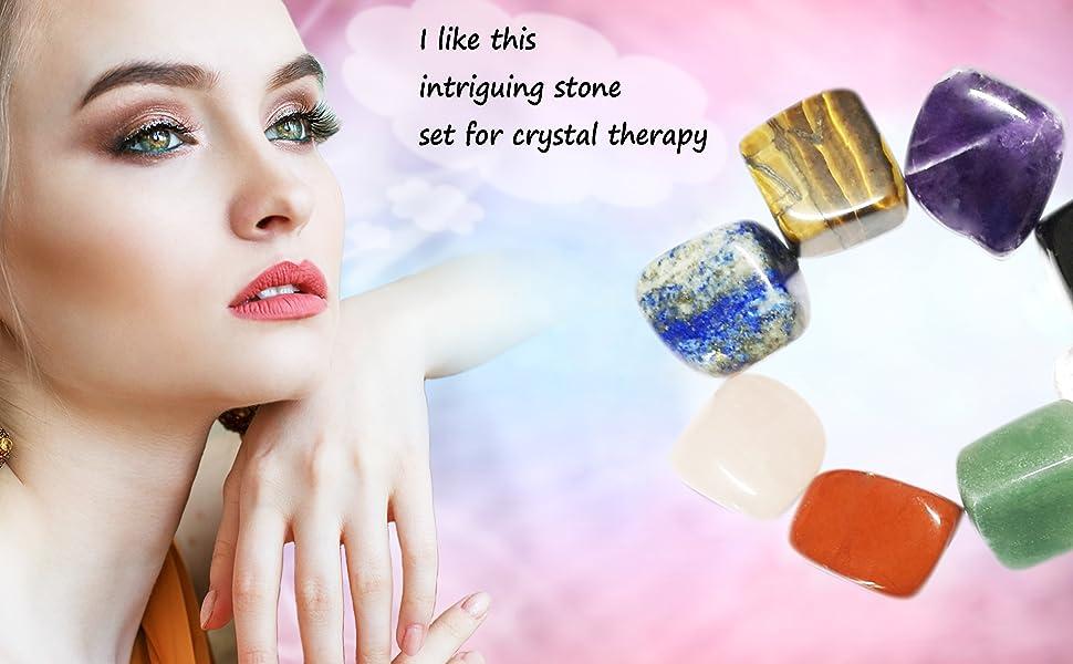 seven chakra healing crystal stones