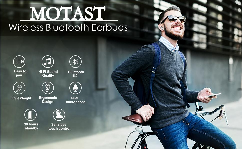 True Wireless Earbuds Bluetooth 5.0 Earbuds