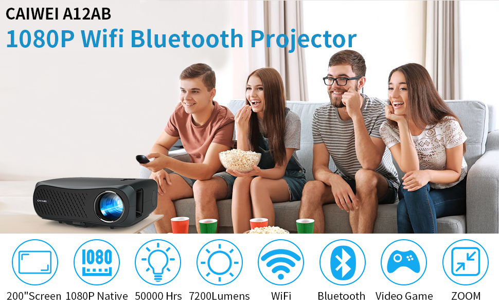 Best Projector with WiFi and Bluetooth