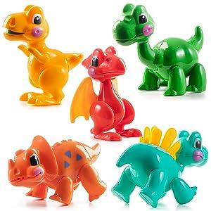 Amazon Com Prextex Juego De 5 Juguetes De Dinosaurios De Dibujos Animados Flexibles Toys Games Gracias por ver nuestro contenido, esta es una de varias invitaciones en stock que puedes adquirir, es completamente personalizada y la puedes enviar… dibujos animados flexibles