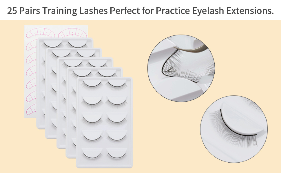 training lashes for practice eyelash extensions