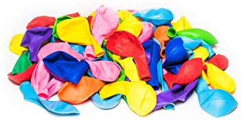 balloons rainbow party colored latex Assorted colors Multicolored Kids Birthday Party Pack helium