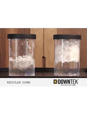 IDFL hydrophobic shake test down water repellent sleeping bags