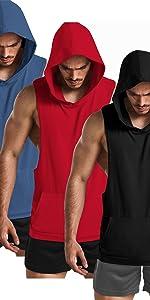 sleeveless hoodies for men