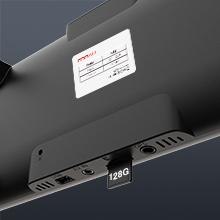 最大128 GBのメモリカードをサポートー容量の問題を心配しない:
