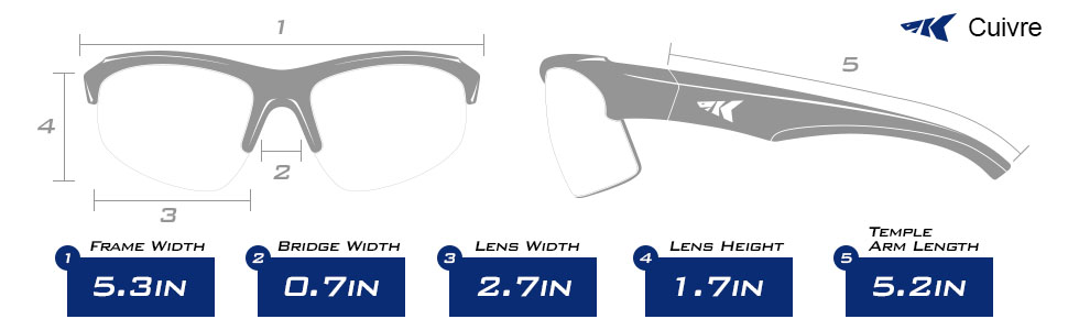 Kastking Cuivre Polarized Sport Sunglasses