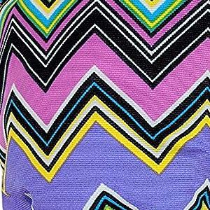 zig zag fashion style subtle chic trendy classic different unique colorful stripes
