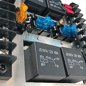 relay box fuses