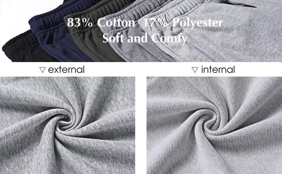 sweatpants with zip pockets