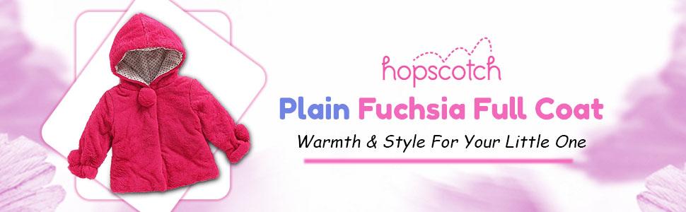 B08FRM5FT4-  Plain Fuchsia Full Sleeve Coat- SPN-FOR1