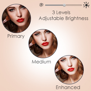 Brighter Natural Light and 3 Levels Adjustable Brightness