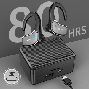 tws wireless earbuds with charging case