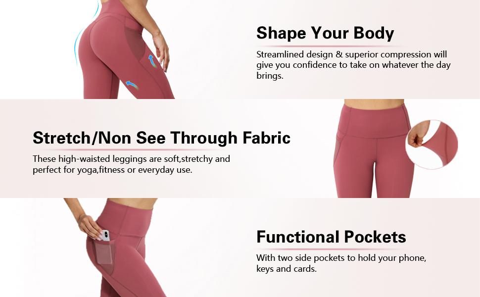 Product description of yoga pants