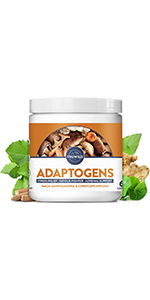 Adaptogen,Reduce Stress, Mood support, Fatigue fighter, Adrenal support, Hormone Balancing, Cortisol