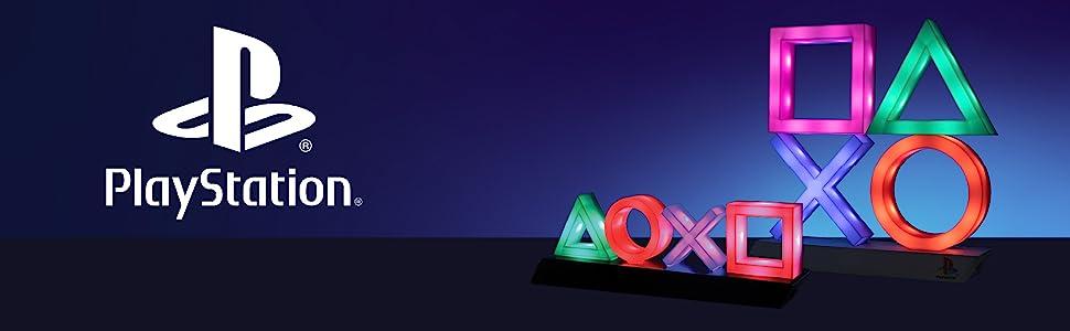 Playstation Icon Lights