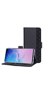 Galaxy S10 Plus Flip Wallet Case