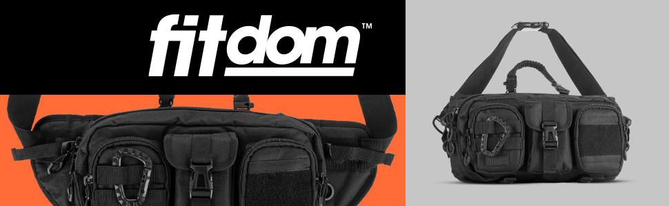 Fitdom SB-2 Large Tactical Sling Bag