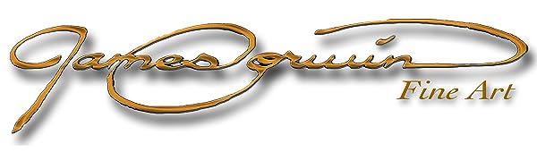 James Corwin Fine Art Brand Company Logo Banner