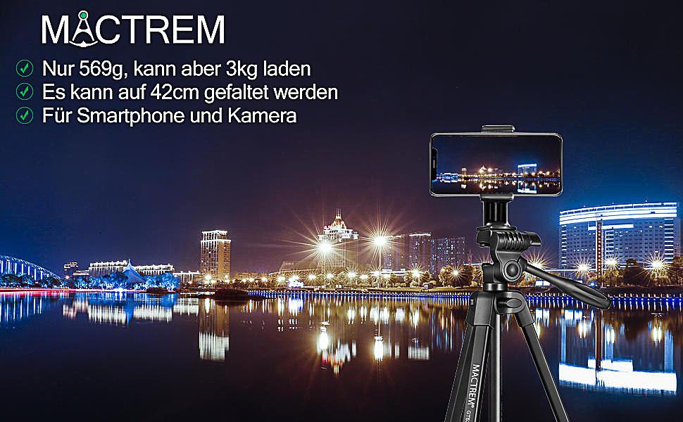 MACTREM Tripode-53 Handy Kamera Stativ