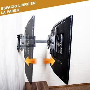 RICOO R06-F Soporte TV Pared Giratorio Inclinable Televisión 40-75