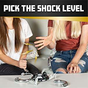 Pick the shock level