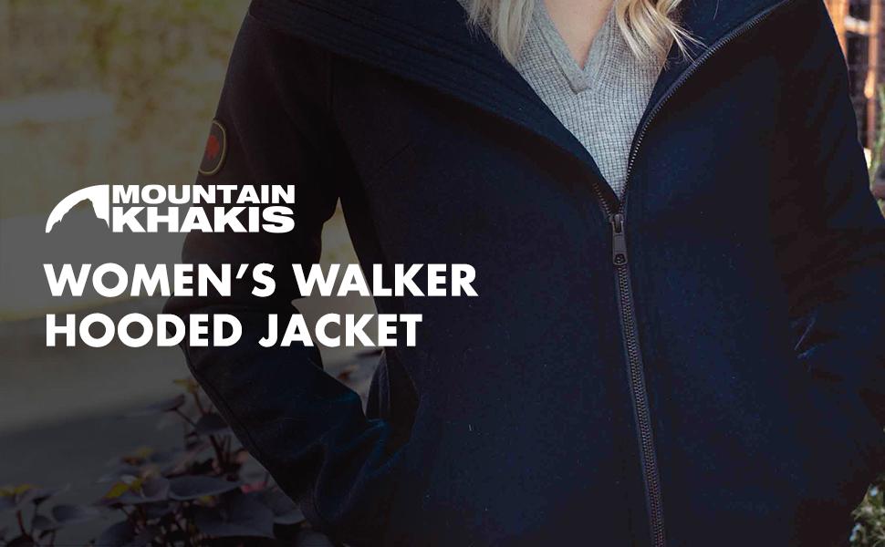 Mountain Khakis Womens Walker Hooded Jacket